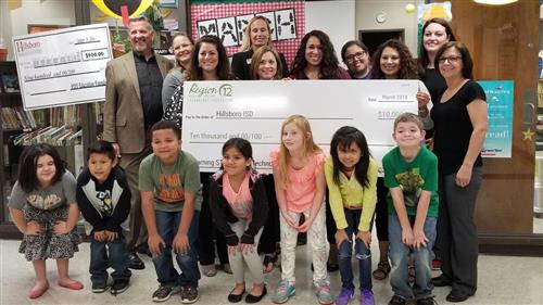 HES Awarded $10,000 Grant from Region 12
