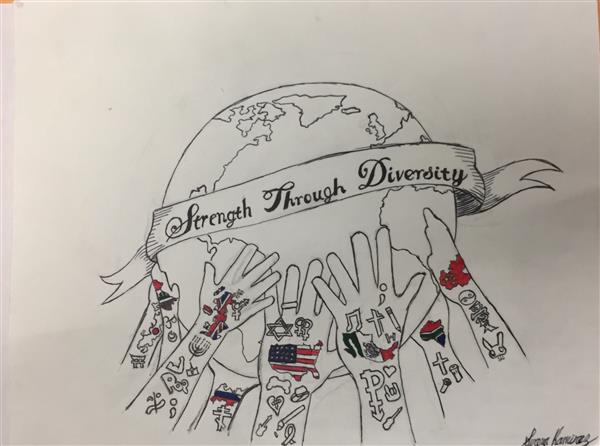Strength through Diversity Artwork