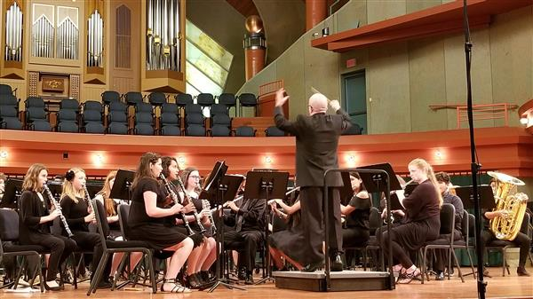 HJHS Symphonic Band at Peak Music Festival